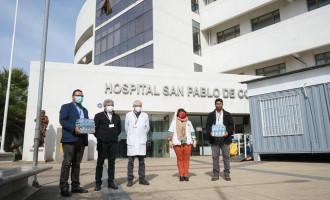 Coca-Cola Andina dona más de 3.400 aguas embotelladas a Hospital de Coquimbo
